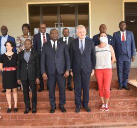 Visite de l'ambassadeur de l'Union européenne